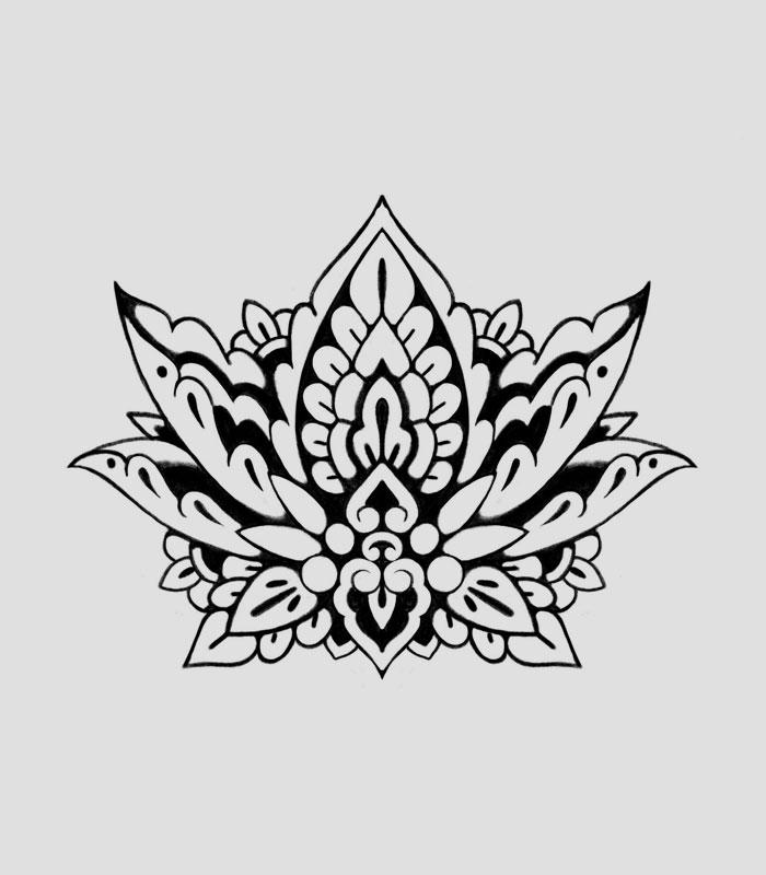 Flash tattoo loto