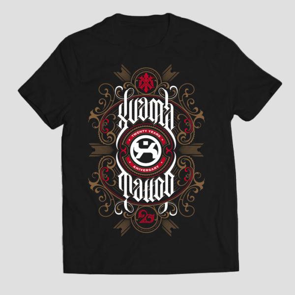 XuamaTattoo camiseta negra tattoo